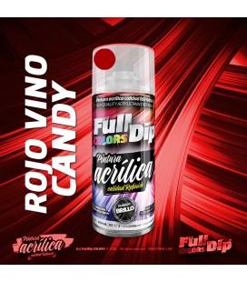 Pintura ACRÍLICA Spray 400ml ROJO VINO CANDY