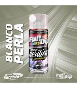 Pintura ACRÍLICA Spray 400ml BLANCO PERLA CANDY