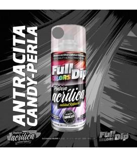 Pintura ACRÍLICA Spray 400ml ANTRACITA CANDY PEARL