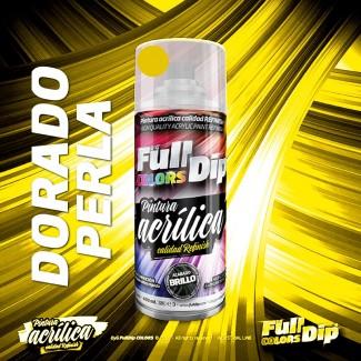 Pintura ACRÍLICA Spray 400ml DORADO PERLA