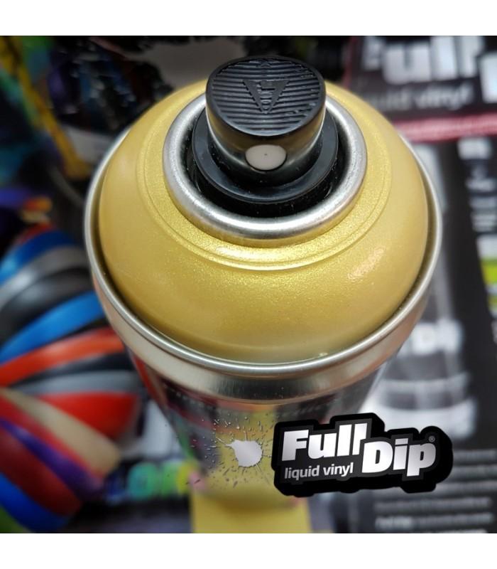 Pintura ACRÍLICA Spray 400ml DORADO PERLA - ViniloPasion.com