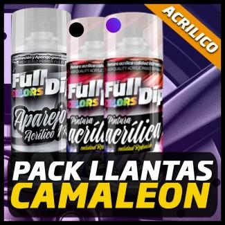 PACK LLANTAS CAMALEÓN PINTURA ACRÍLICA