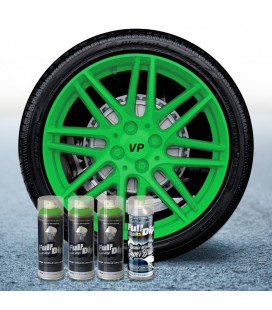 Pack 3 Sprays de 400ml Color VERDE LIMA + 1 Spray BRILLO