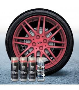Pack 3 Sprays de 400ml Color ROSA METALIZADO + 1 Spray BRILLO