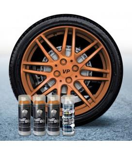 Pack 3 Sprays de 400ml Color BRONCE METALIZADO + 1 Spray BRILLO