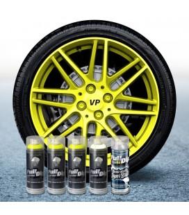 Pack 3 Sprays AMARILLO FLÚOR + 1 BLANCO + 1 BRILLO