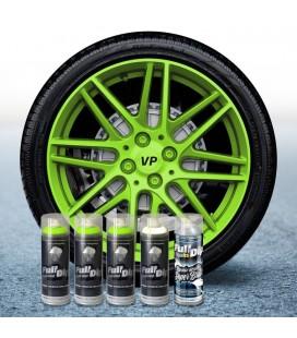 Pack 3 Sprays VERDE MONSTER FLÚOR + 1 BLANCO + 1 BRILLO