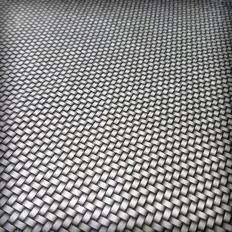 Lámina HidroImpresion Carbono Plata 0,5x100cm