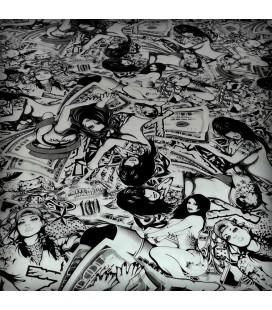 Lámina HidroImpresion Comic Heroínas 0,5x100cm