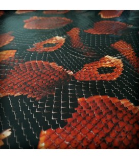 Lámina HidroImpresion Piel de Serpiente 0,5x100cm