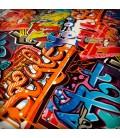 Lámina HidroImpresion Graffiti 0,5x100cm