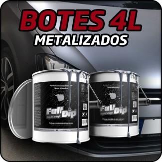 COLORES METALIZADOS 4L