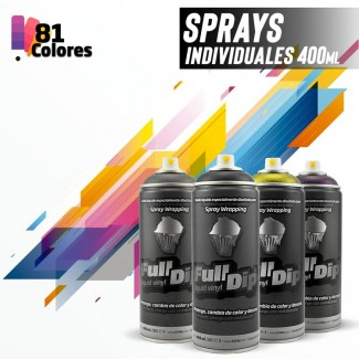 Sprays 400ml FullDip® (Individuales)