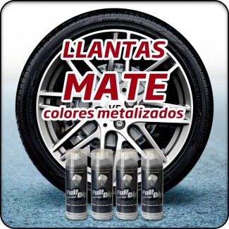 COLORES METALIZADOS MATE