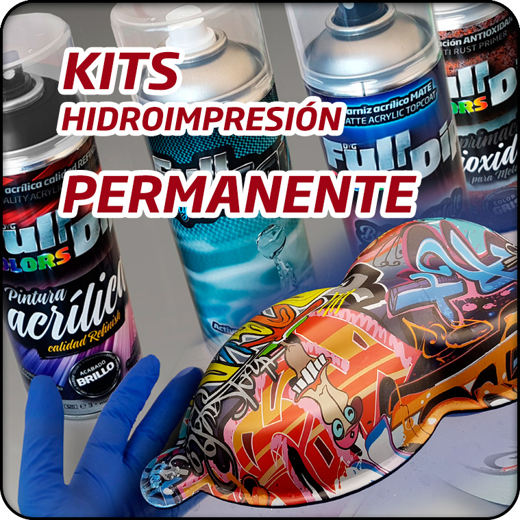 KIT HIDROIMPRESIÓN PERMANENTE