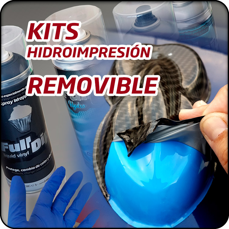 KIT HIDROIMPRESIÓN REMOVIBLE