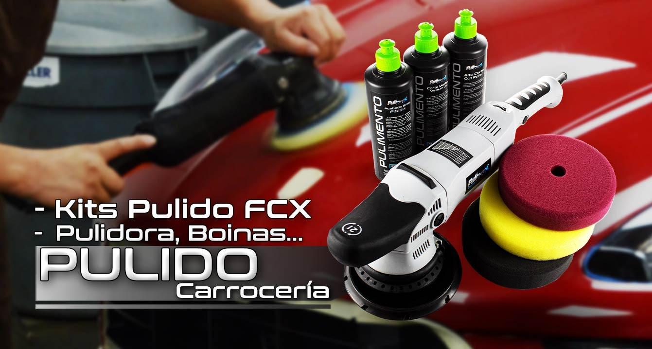 Pulido Carrocería FullCarX® - Máquina, Pulimentos, Kits etc.
