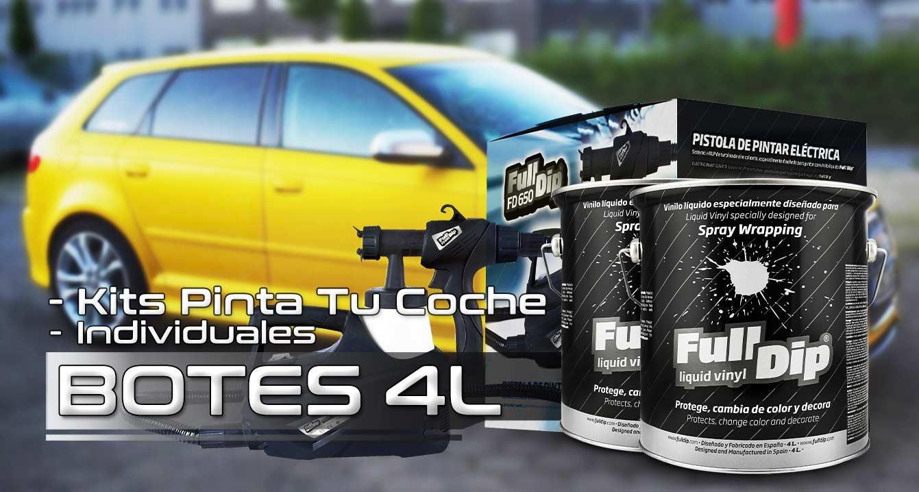 Botes 4L FullDip® - KITS 'Pinta-Tu-Coche'